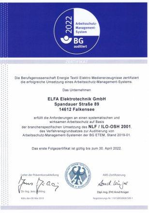 AMS Zertifikat